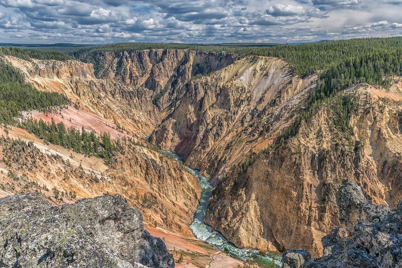 Yellowstone Chasm