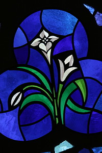 Easter Lily Stained Glass @ St. Michael, Gainesville