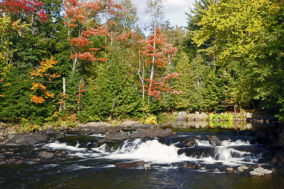 Rapids on Oxtongue River