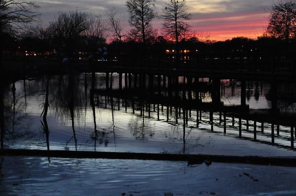 Lafreniere Park at Dusk