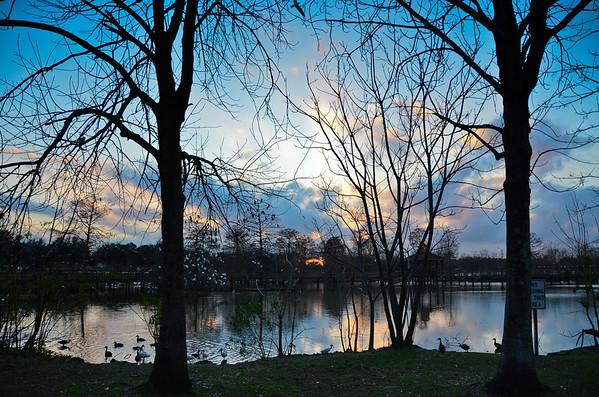 Lafreniere Warm Winter Evening 01/27/13