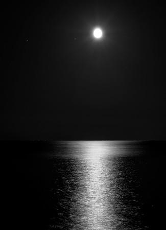 At night..