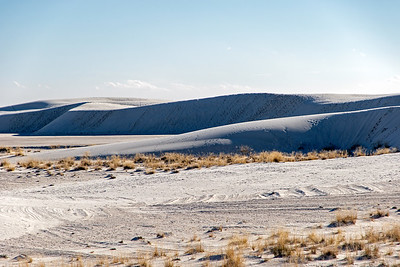 White Sands National Park in southern New Mexio