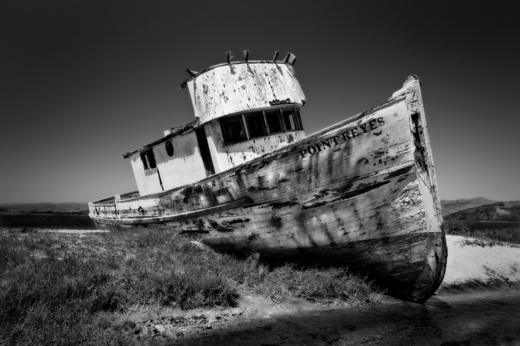 Shipwrecked at Point Reyes, California<br /> © Douglas Remington - Ethereal Light Photography, LLC.  All Rights Reserved. Do not copy or download.
