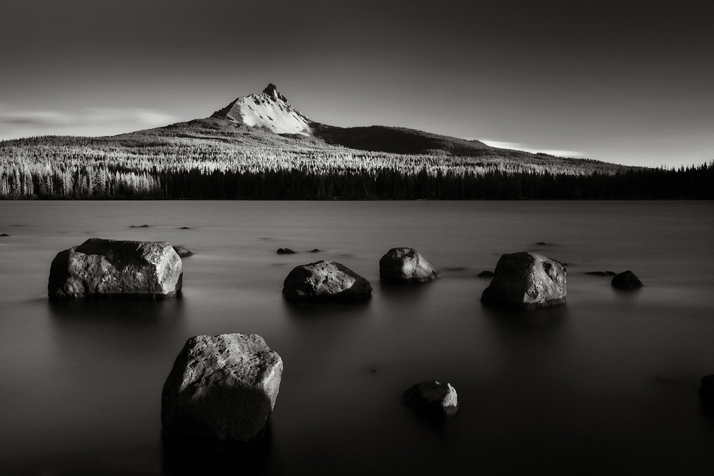 Stepping stones of light and darkness. Mt. Washington, Oregon<br /> © Douglas Remington - Ethereal Light Photography, LLC.  All Rights Reserved. Do not copy or download.
