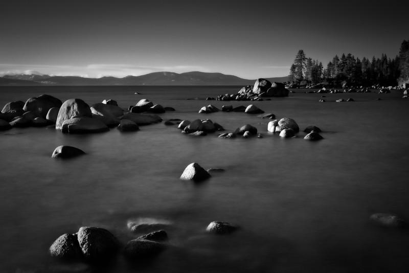 Fragmented. Lake Tahoe.