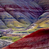 Painted Hills, John Day fossil beds, Eastern Oregon<br /> © Douglas Remington - Ethereal Light Photography, LLC.  All Rights Reserved. Do not copy or download.
