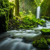 Dreamland. Mossy grotto falls, Columbia river gorge, Oregon.<br /> <br /> <br /> © Douglas Remington - Ethereal Light® Photography, LLC. All Rights Reserved. Do not copy or download