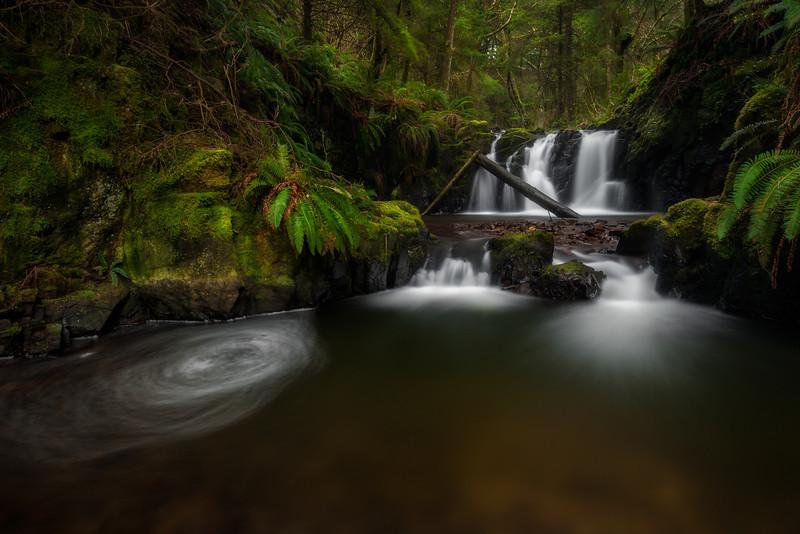 Ecola Falls.