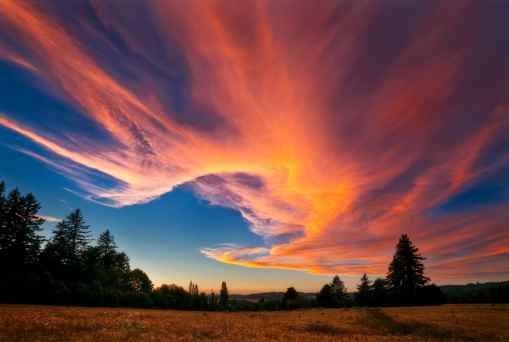 Cloudgasm, Western Oregon<br /> © Douglas Remington - Ethereal Light Photography, LLC.  All Rights Reserved. Do not copy or download.