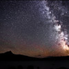 The Milky way and Mt. Washington, Oregon<br /> © Douglas Remington - Ethereal Light Photography, LLC.  All Rights Reserved. Do not copy or download.