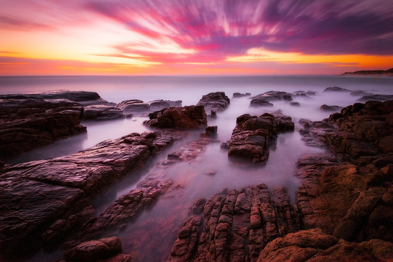 Sunset, Margeret River, Western Australia.