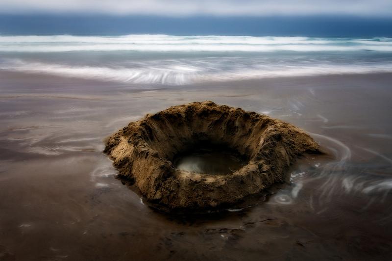 The Fissure, Oregon coast