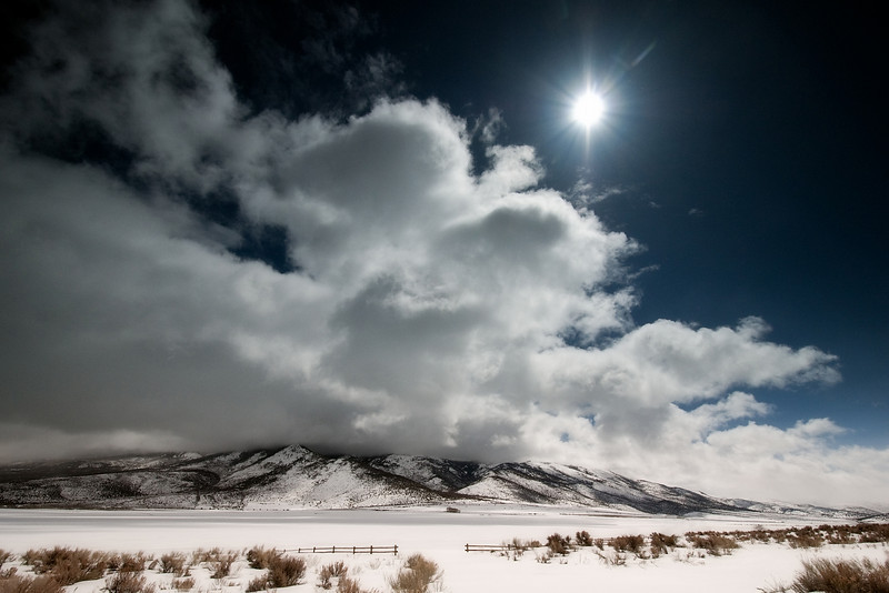 A break in the storm, central Utah.<br /> © Douglas Remington - Ethereal Light Photography, LLC. All Rights Reserved. Do not copy or download.