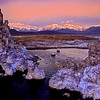 Sunrise on Tuffa formations, Mono Lake, California