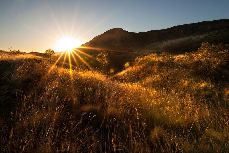 Outback sunsta. Northern Teritory Australia