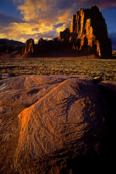 Temple of the Sun, Utah<br /> © Douglas Remington - Ethereal Light Photography, LLC.  All Rights Reserved. Do not copy or download.