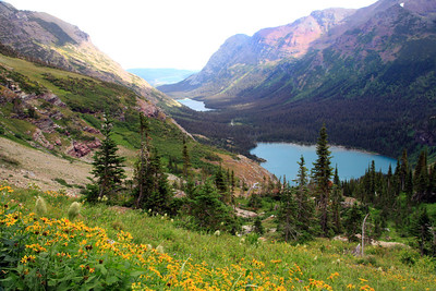 Grinnell Lake and Scenery