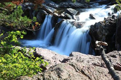Waterfall at Redrock Lake