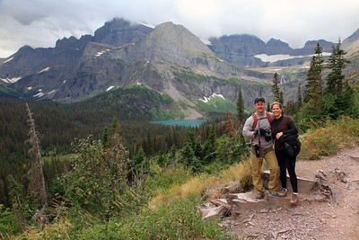 Troy and Teri on the Grinnell Glacier Hike