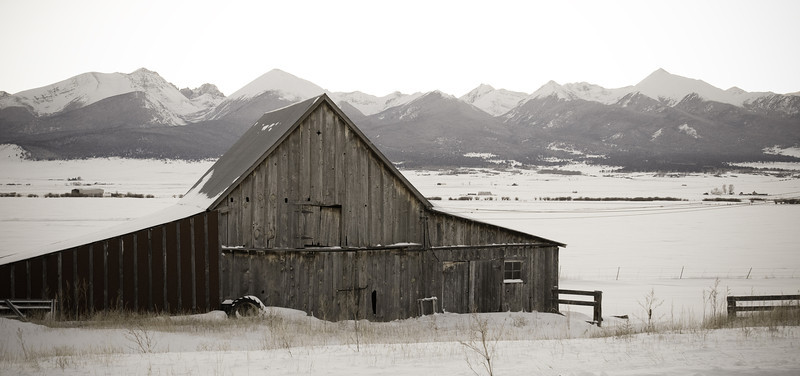 Barn Near Westcliffe Colorado