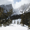Winter Scene Rocky Mountain Park