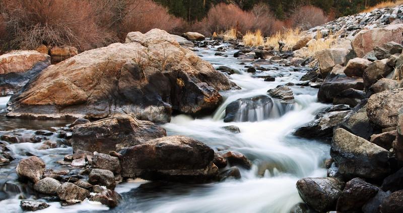 Cascade outside of Estes Park Colorado