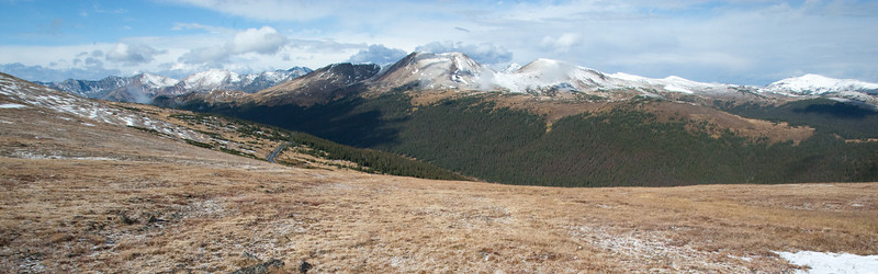 Mountains from Trail Ridge Road
