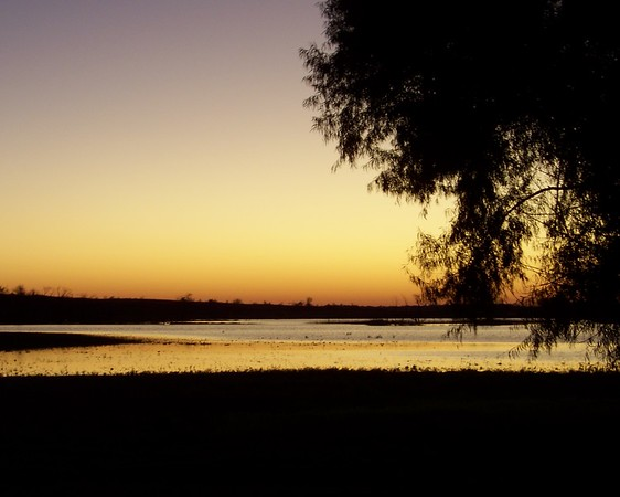 Sunset<br /> Hagerman NWR<br /> 11-6-09
