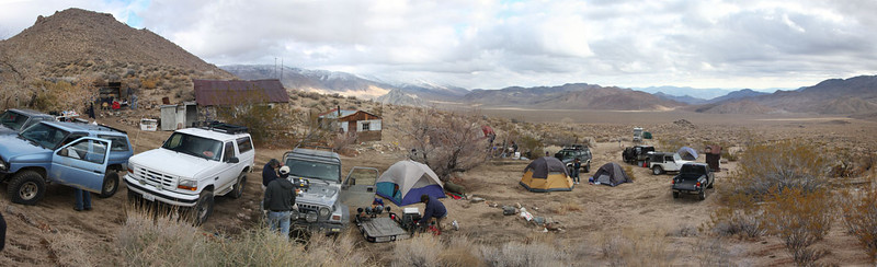 Base Camp with the Waags on their annual DV trip. (Butte Valley)