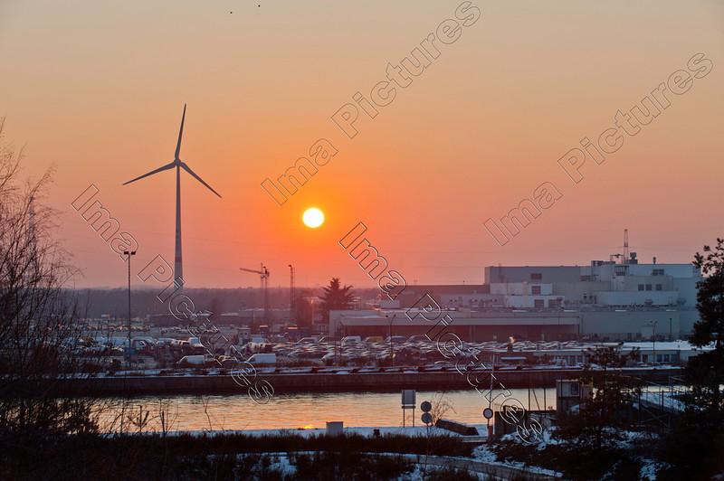 sunset zonsondergang couchée du soleil