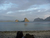 Next three pnotos are views from the campsite, around sunset.