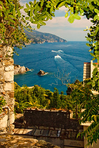 On the Cinque Terre, Italy.