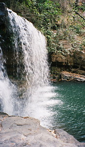 Waterfall in Benin, W. Africa