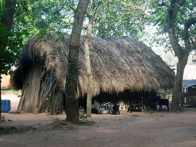 Tafi Atome village home, Ghana, W. Africa