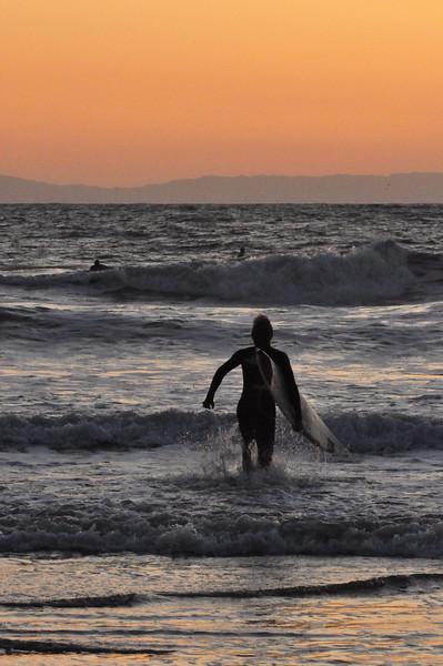 Sunset Surf Session