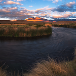 Sunrise at the Owens River