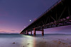 "Mackinac Bridge - Michigan ""UP""<br /> Singh-Ray 3 Stop Reverse GND"