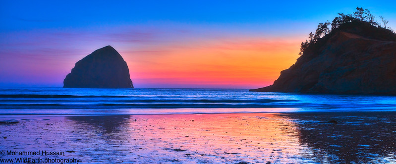 Cape Kiwanda Sunset, Pacific City, OR