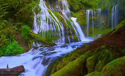 Panther Falls, Gifford Pinchot National Forest, Wind River Valley, WA