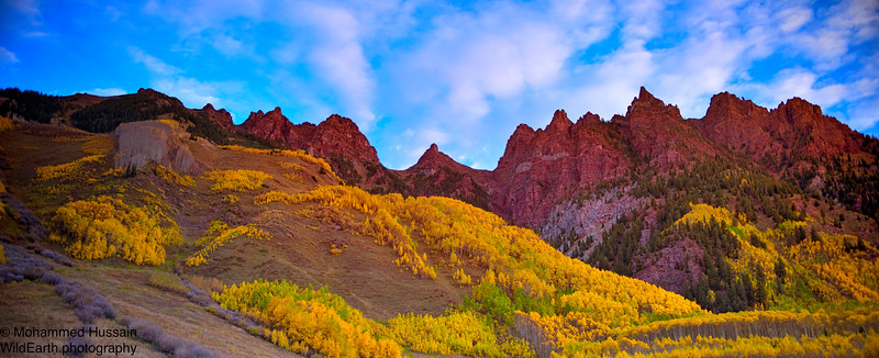 Sievers Mountain South, Maroon Bells - Snowmass Wilderness Aspen, Colorado
