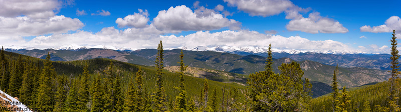 Front Range of Colorado Mountains, Squaw Pass, Colorado