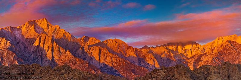 Sierra Nevada Range - Lone Pine, CA