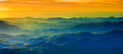 Front Range Sunrise, Mount Evans Wilderness, CO