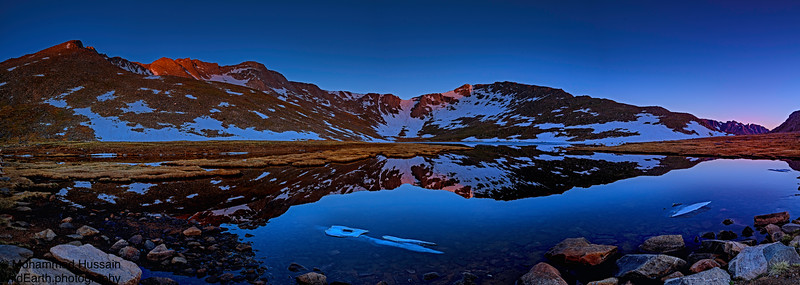 First Light over Summit Lake, Mount Evans Wilderness, Evergreen, CO