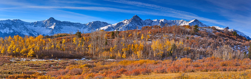 Mears Peak and Sneffels Range, Near Ridgway, CO