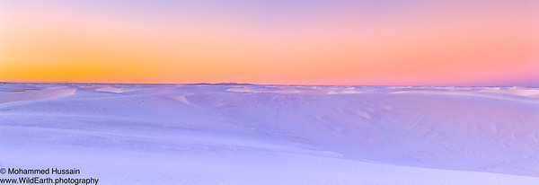 Predawn at White Sands National Monument, Alamogordo, NM