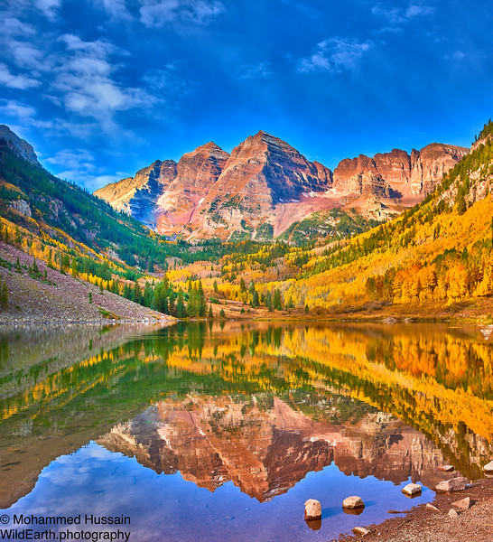 Maroon Bells,  Maroon Bells-Snowmass Wilderness, Aspen, CO