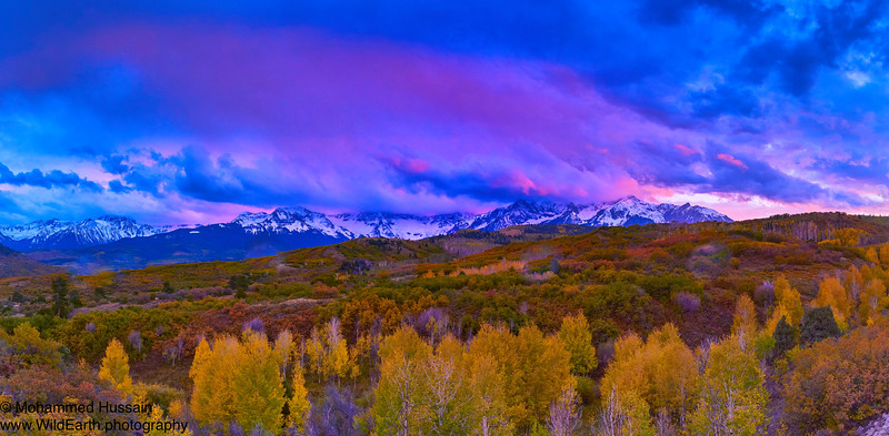 Sunset Over San Juan Mountains - Ridgway, CO