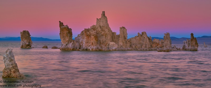 Mono Lake Tufa Sunset - Mono Lake, CA